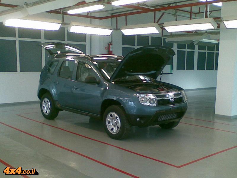 רכב שטח חדש לדאצ'יה