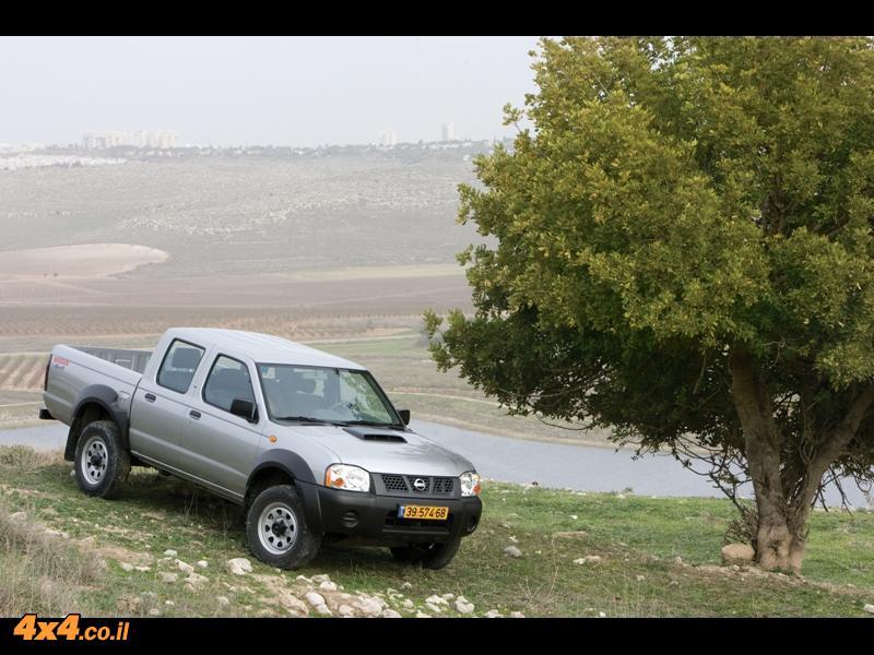 מותג חדש בא לעבוד - טנדר ניסאן ווינר NISSAN - 4X4 אתר השטח הישראלי LY-69