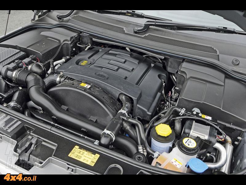 מנוע חדש 3 ליטר דיזל  LR-TDV6