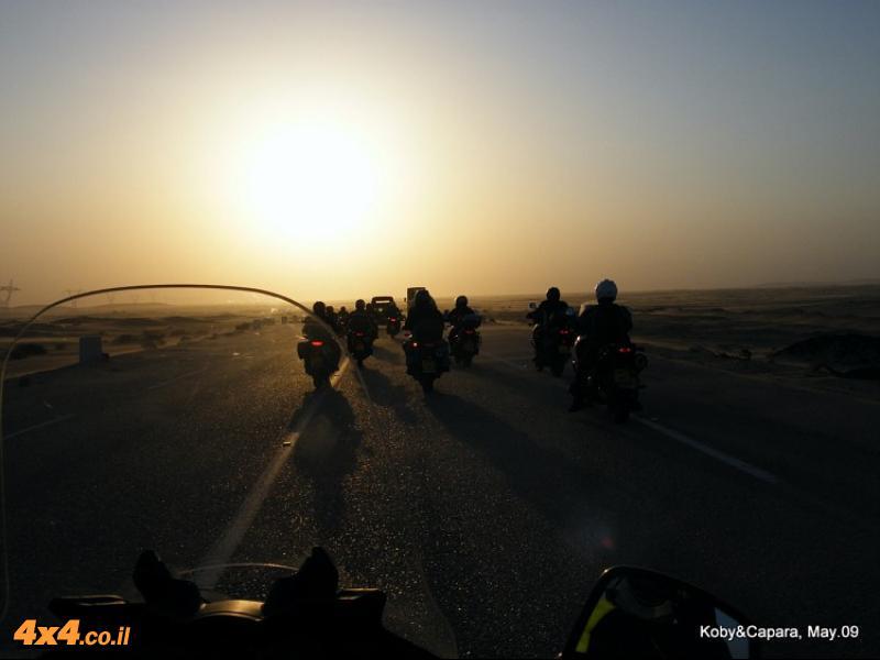 סיירת ויסטרום במצרים - שרוטים במדבר הסהרה