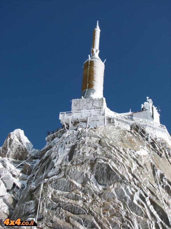 AIGUILLE DU MIDI בגובה 3,842 מטרים