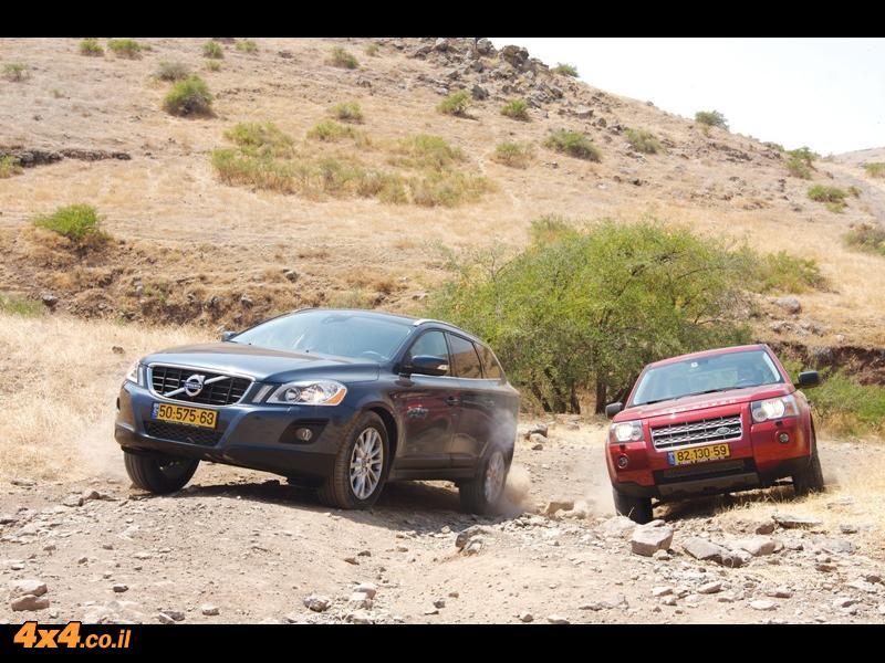 לנד-רובר פרילנדר 2 Land Rover  מול וולוו  Volvo Xc60