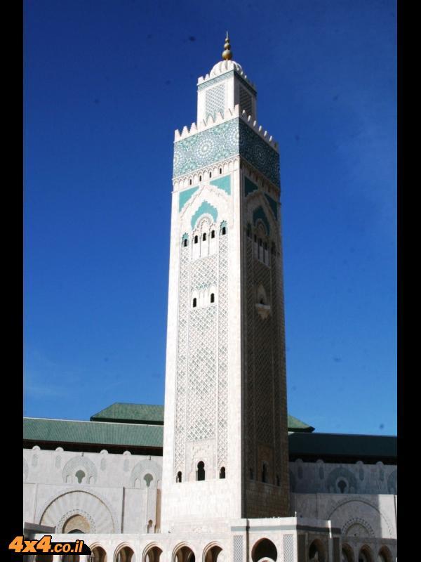 המסגד הכי גדול במרוקו ו-3 בגודלו בעולם