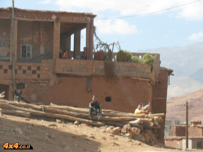 בתים בהרי האטלס