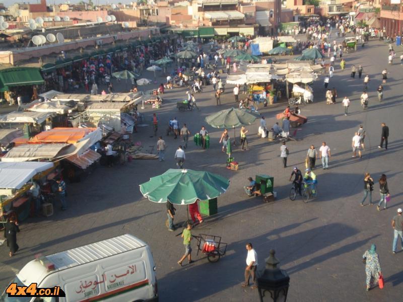 מרקש - עיר עם כיכר