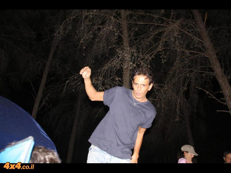 היום השני במסע - מיקנעם לקריית - גת(יער המלאכים)
