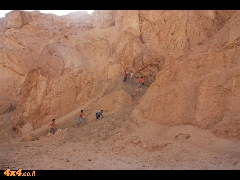 היום החמישי- מנחל פארן לאילת
