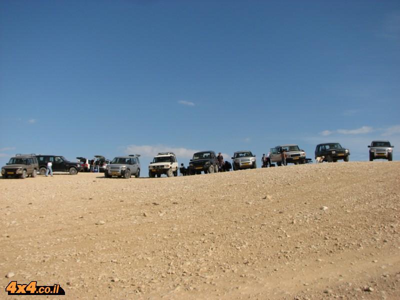 מסע מועדון לנדרובר במדבר יהודה 14.11.09