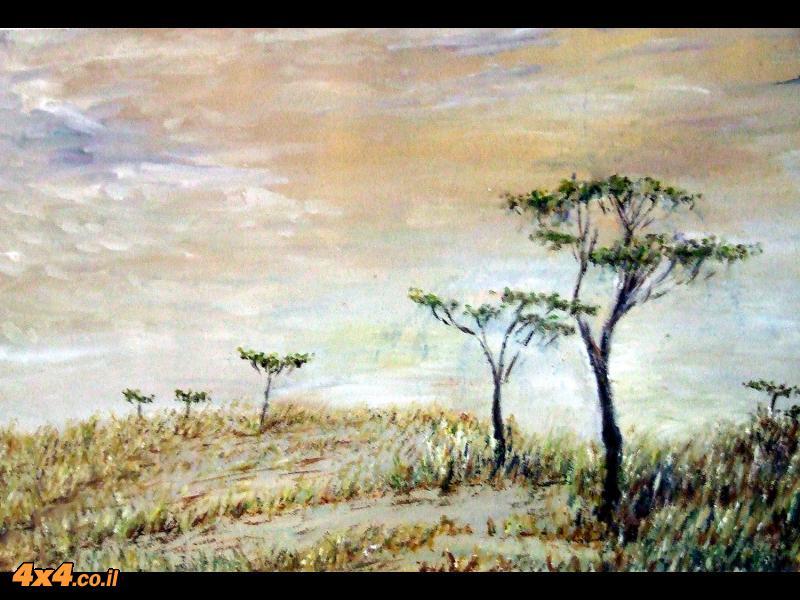 בשמורה הלאומית מסאי-מארה, קניה