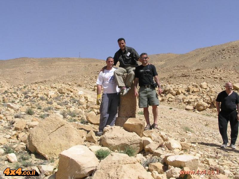 עוד תמונות מפרויקט שיקום אבן הדרך הרומית בירדן