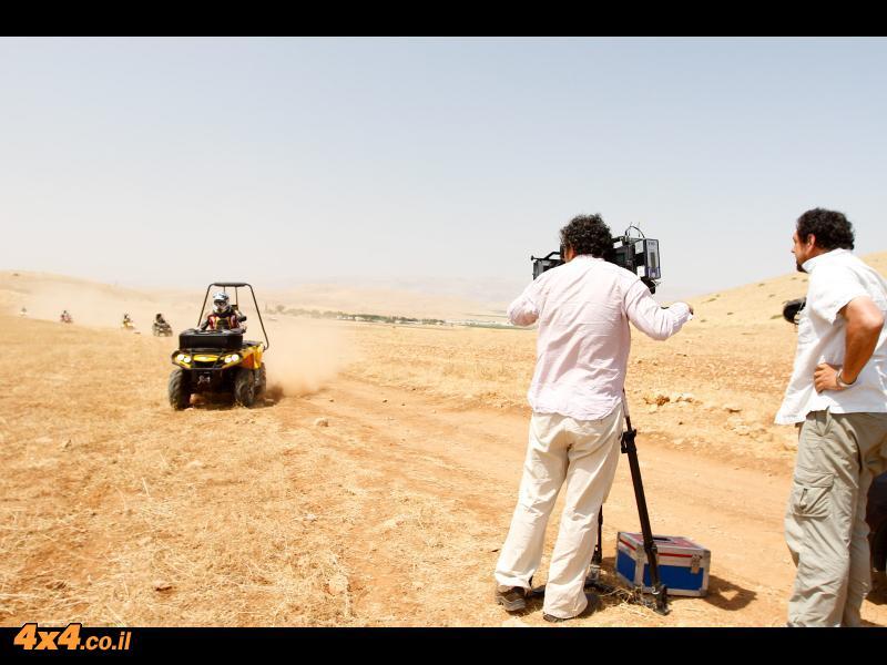 במסע מיוחד לבקעת הירדן - מאי 2012