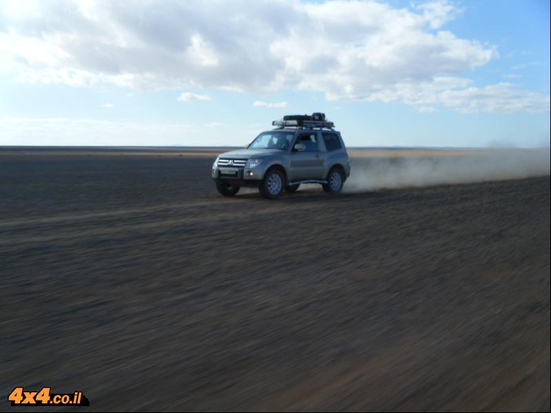 מסע אתגרי במדבריות המזרח של ירדן - סילבסטר 2010