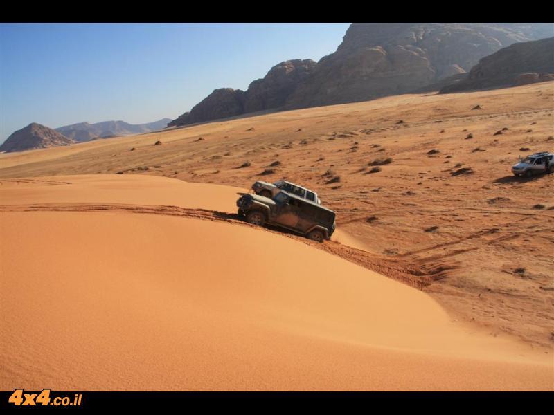 דיונות ומים במדבר הדרומי
