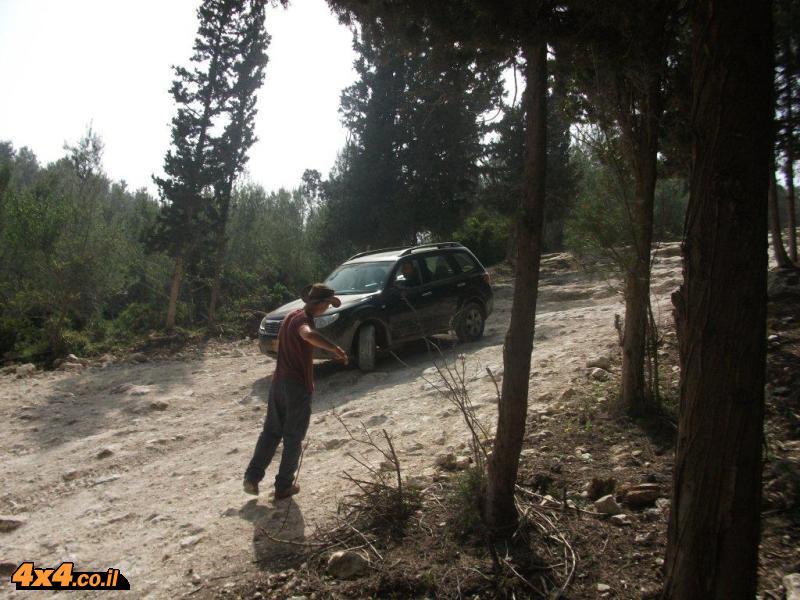 הדרכת נהיגה בשטח טרשי - יום שישי 12.3.2010