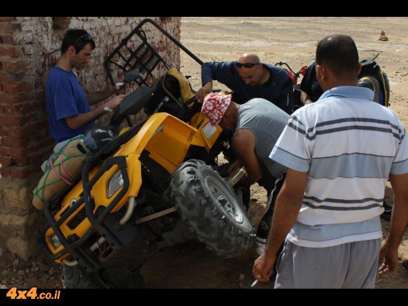 מוסך המדבר - מומחים לרצועות וארייטור וצמיגים קרועים