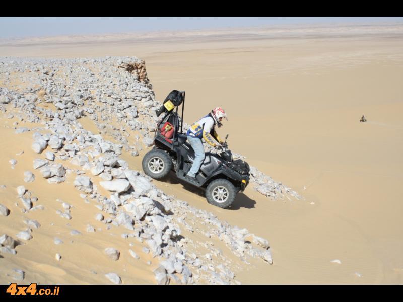 מסע KTM למדבר המערבי בלב מדבר הסהרה - מרץ 2010