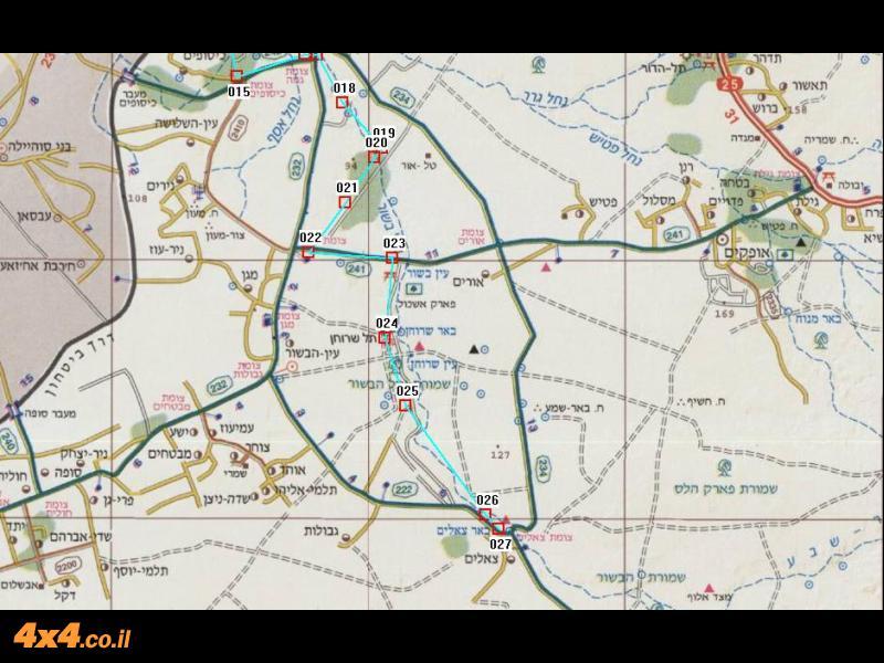 מפה דרומית