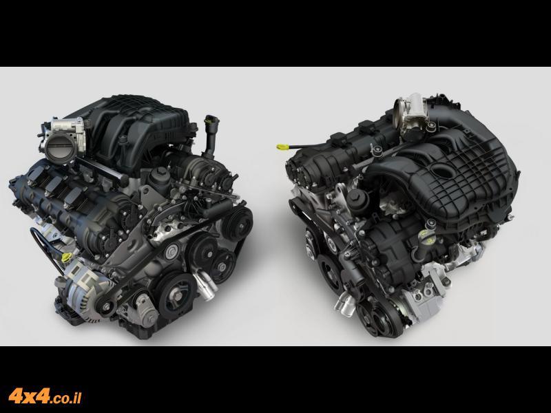 מנוע חדש לג'יפ
