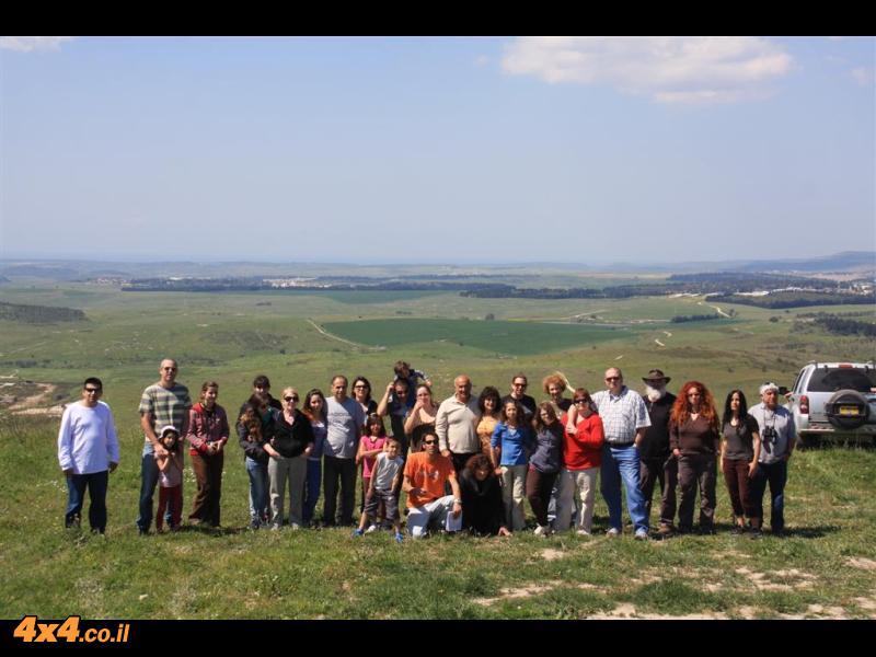 טיול משפחות לרמות מנשה - 20 מרץ 2010. מדריך וייזל עדי