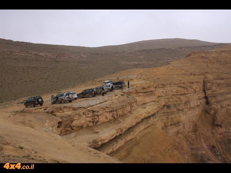 הירידה למכתש ומעלה אברהם