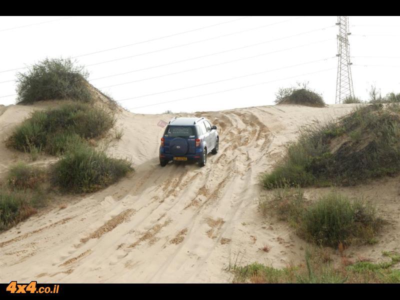 מועדון טריוס בעמק חפר, חולות קיסריה ומאגרי מנשה – 3.4.2010