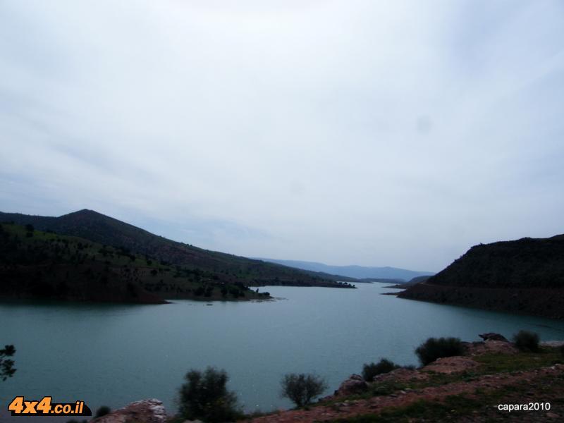 מעקף צפוני דרך אגם  בין אל אודאן