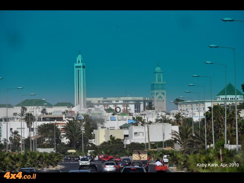 יומן מסע עירוני - מרוקו