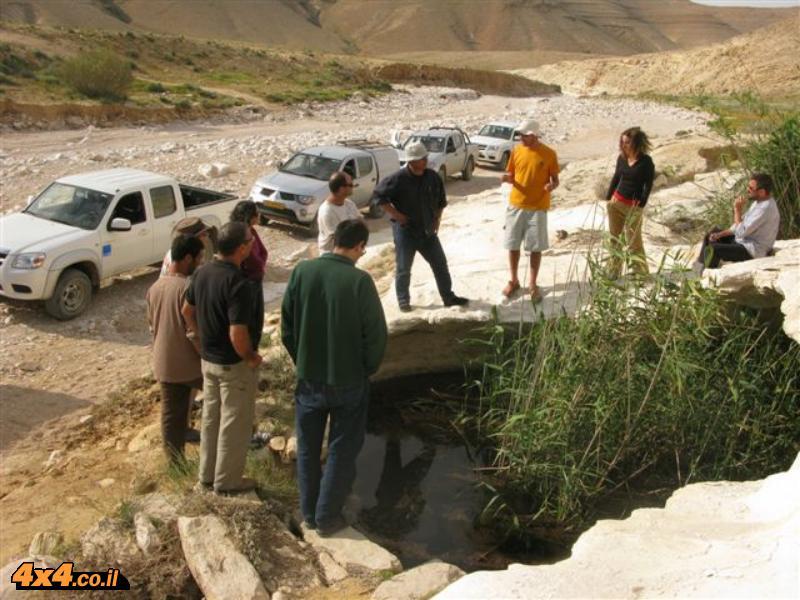 הדרכת נהיגה לצוות בתי ספר שדה של החברה להגנת הטבע