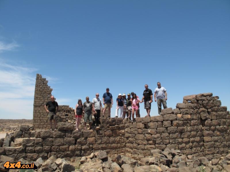קצ'ר בורקו - מצודה רומית, לא רחוק ממשולש הגבולות ירדן - סוריה - עיראק