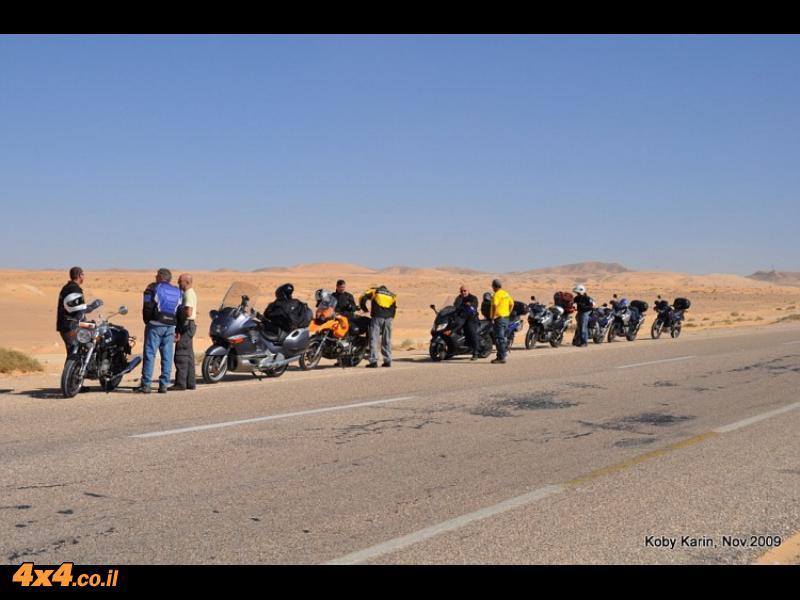 כבישים אין סופיים של מאות ואלפי קילומטרים