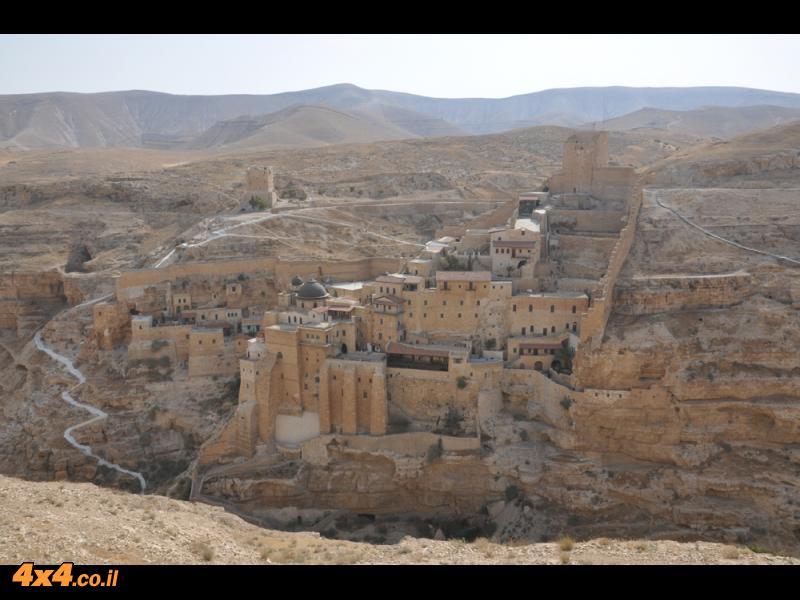 המסע למנזר האבוד - מצפון מדבר יהודה למרסבא ולעין מבוע 12.6.10 הדרכה: וייזל עדי