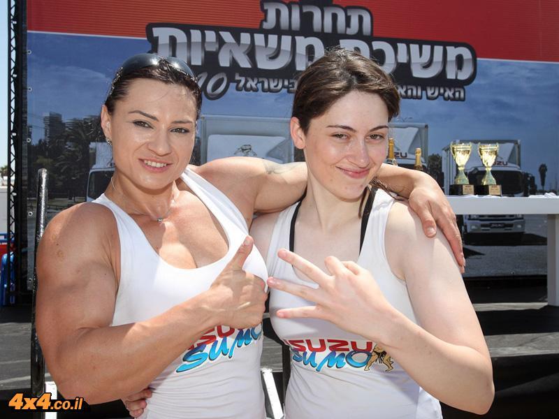 האיש/ה החזקים בישראל במשיכת משאיות 2010