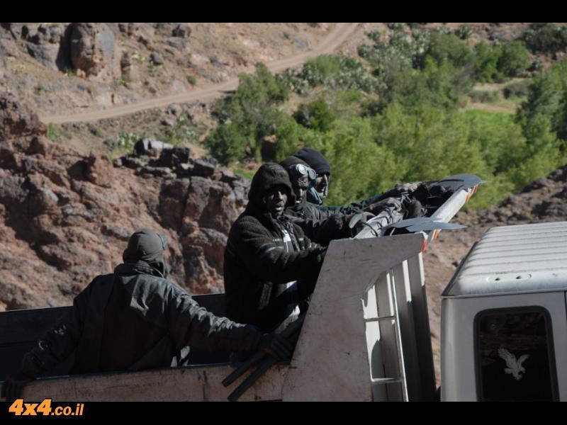 מכרה הברזל בפסגת הרי האטלס