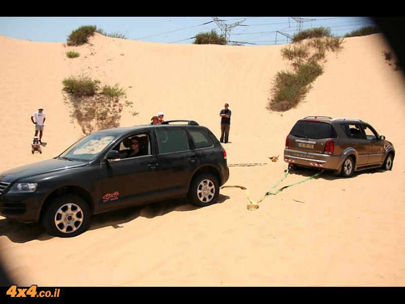 הדרכת נהיגה בחולות 18.6.2010 - התמונות