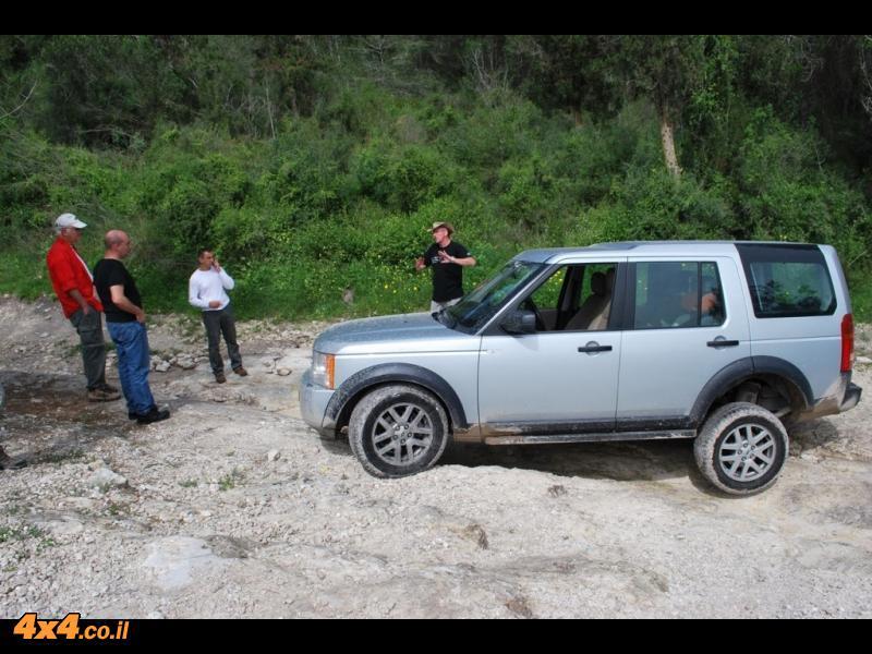 הדרכת נהיגה בשטח טרשי  - 20.8.2010