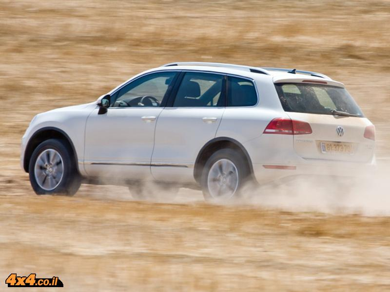 פולקסוואגן טוארג דיזל  - Tuareg TDI Volkswagen