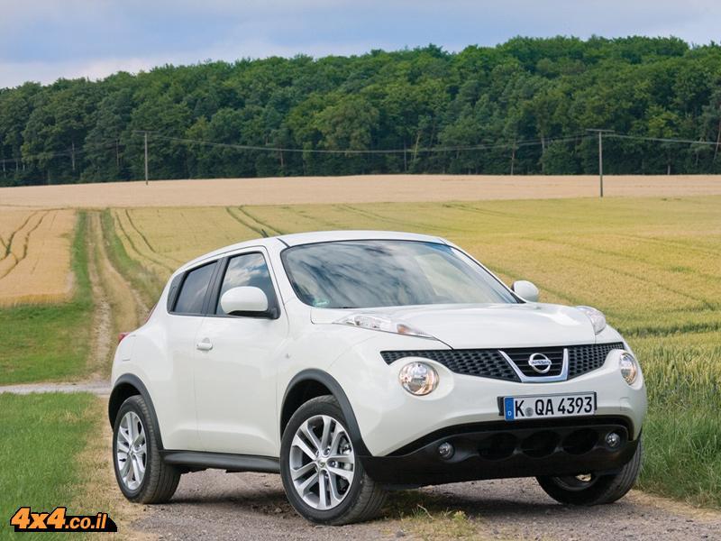 מבחן דרכים: ניסאן ג'וק Nissan Juke