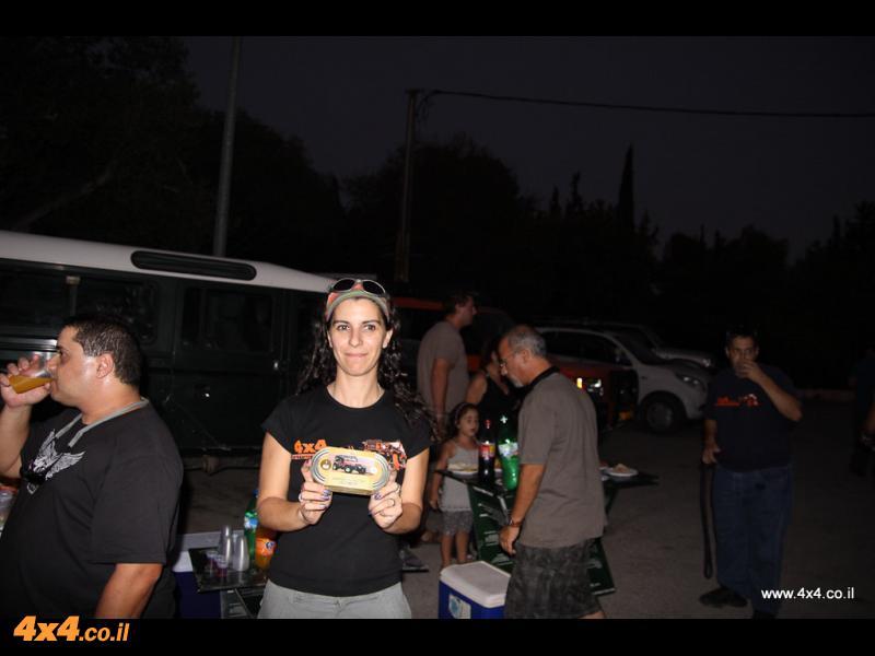 כל המשתתפים שהגיעו לאירוע קיבלו מתנה לפיד שטח גן אקליפטוס, מתנת חברת וי-קנדלס בע''מ
