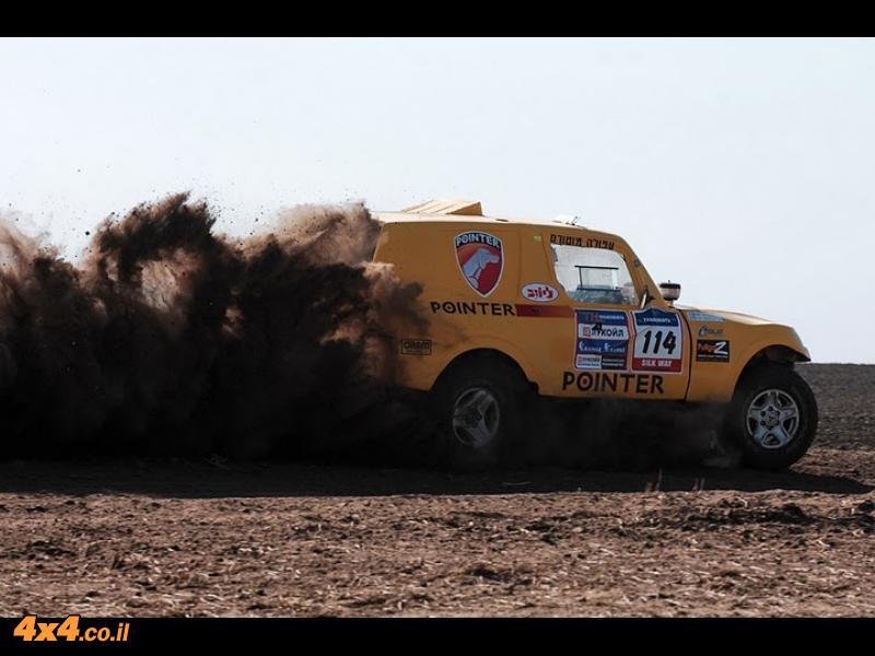 הצוותים הישראלים במרוץ