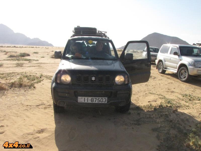עז ההרים השחורה וצמד נהגי המדבר