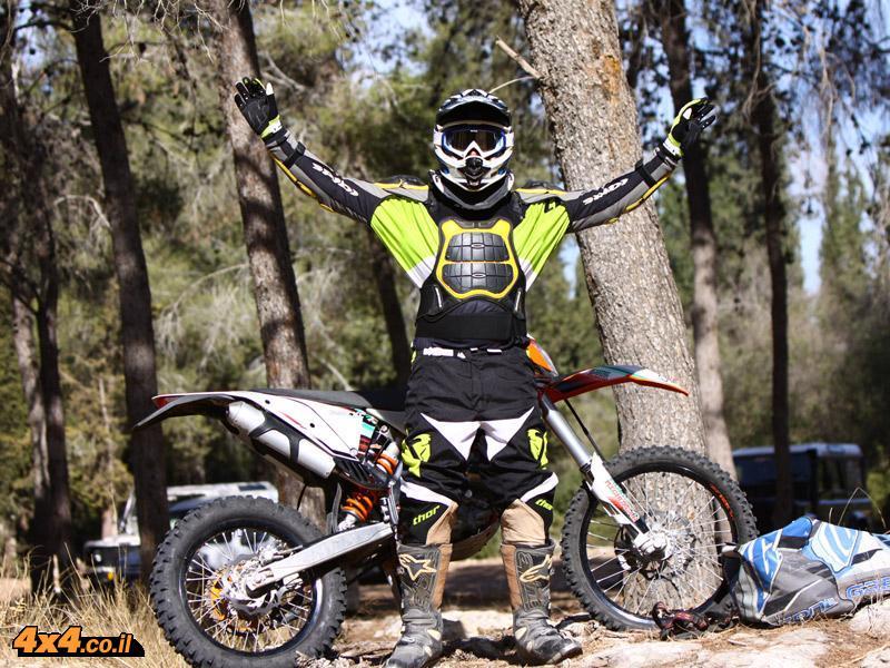 מיגון רכיבה ולבוש - אופנוען שטח