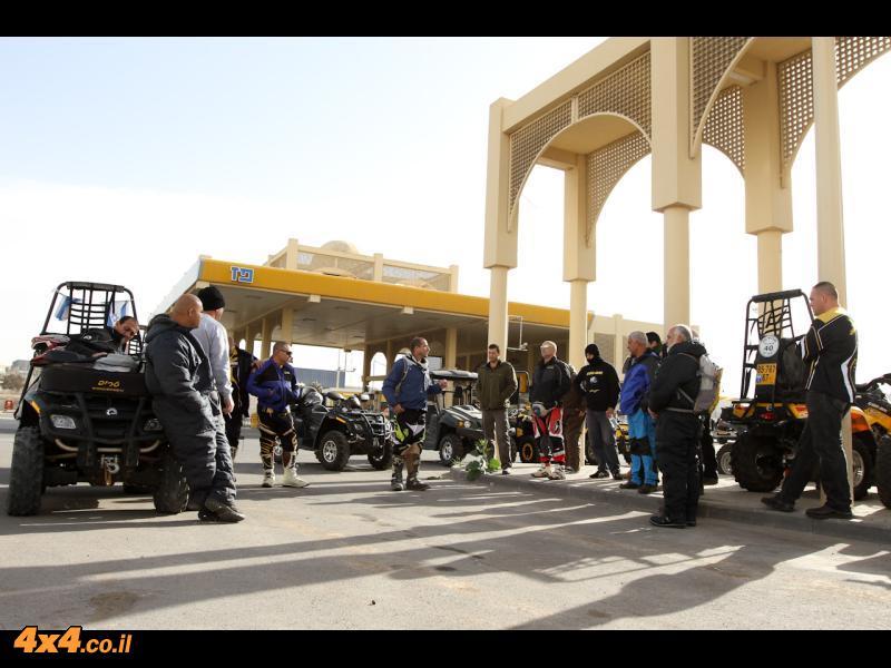 טיול מועדון טרקטורונים BRP לדרום מדבר יהודה ולצפון הערבה