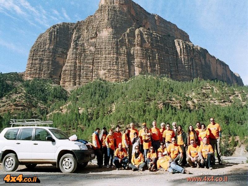 מרוקו - טיול ג'יפים 9 ימים - חוצה הרי האטלס והדיונות של הסהרה 18/4/2011 עד 27/4/2011
