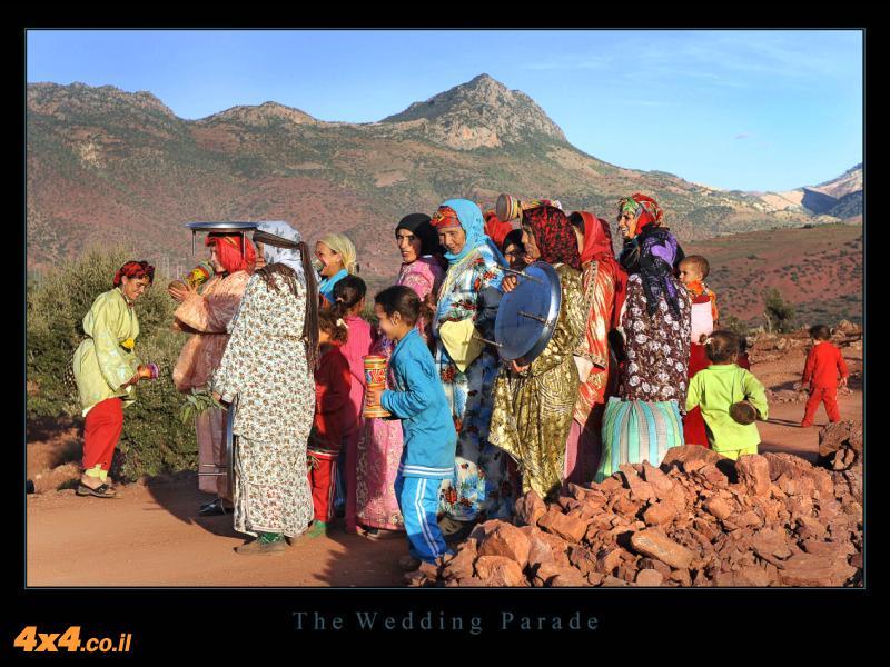 בדרך לחתונה ברברית