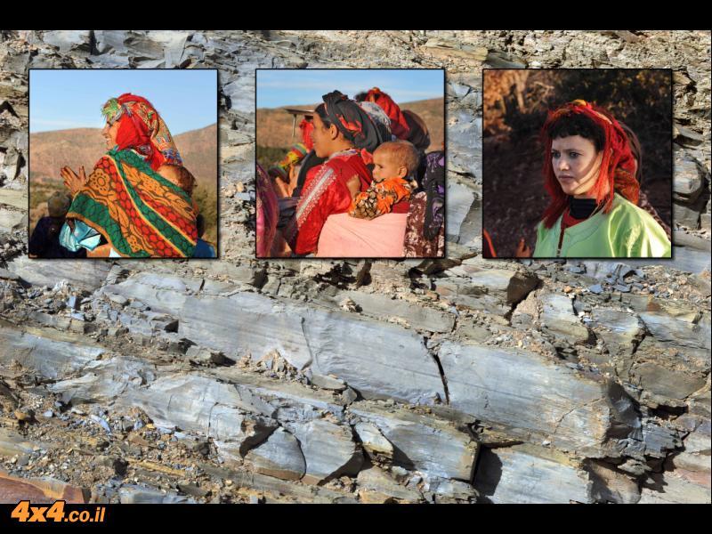 הברברים - תושבי הרי האטלס של מרוקו