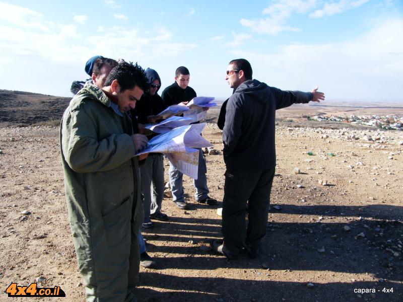 תמונות וסיכום מקורס ניווט טופוגרפי - ינואר 2011