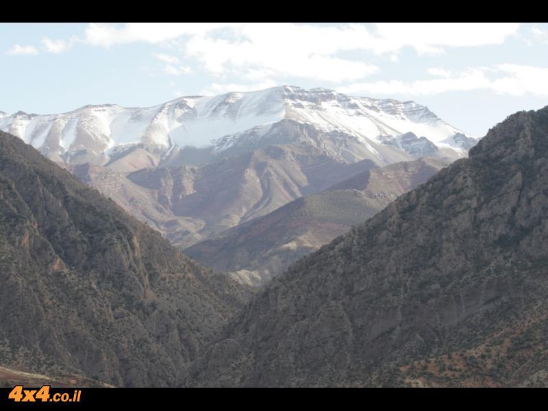 היום הראשון למסע - מדמנאט לעמק האושר שבלב הרי האטלס