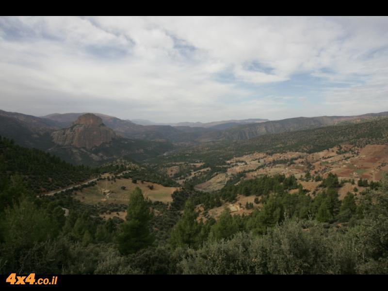 היום השני - מעמק האושר דרך הקתדרל לעמק הטודרה