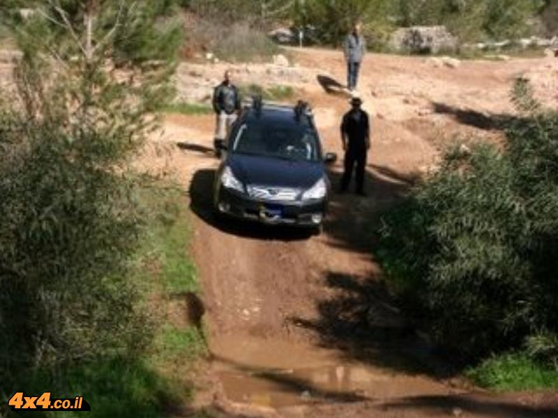 הדרכת נהיגה בשטח טרשי - 28.1.11- יער בן שמן - סיכום