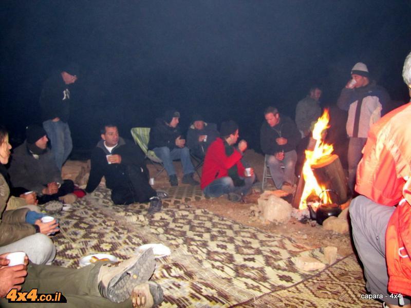 ארוחת ערב ושינה ליד חאן טורקי ישן על דרך החוגגים
